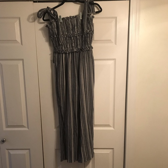 Super easy and comfortable striped jumpsuit!